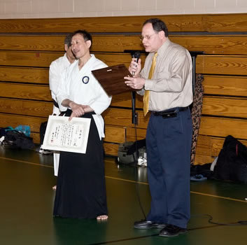 Mayor Katz, City of Gaithersburg and Soshu Shintaku
